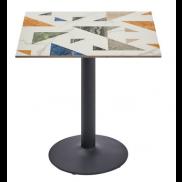 레인보우 사각 테이블
