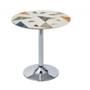 레인보우 원형 테이블