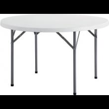 원형 다리접이식 테이블