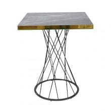 장구발 마블 테이블(600각)