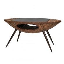 블레드 타원형 야외 테이블
