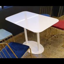 [주문제작]하부타원철판테이블